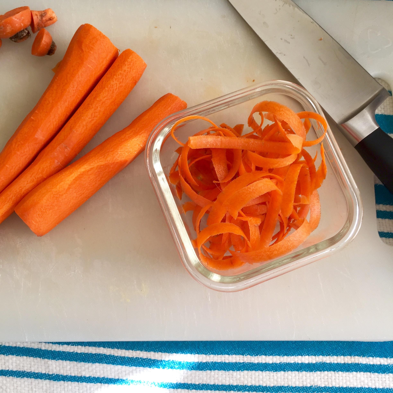 Carrot Peels