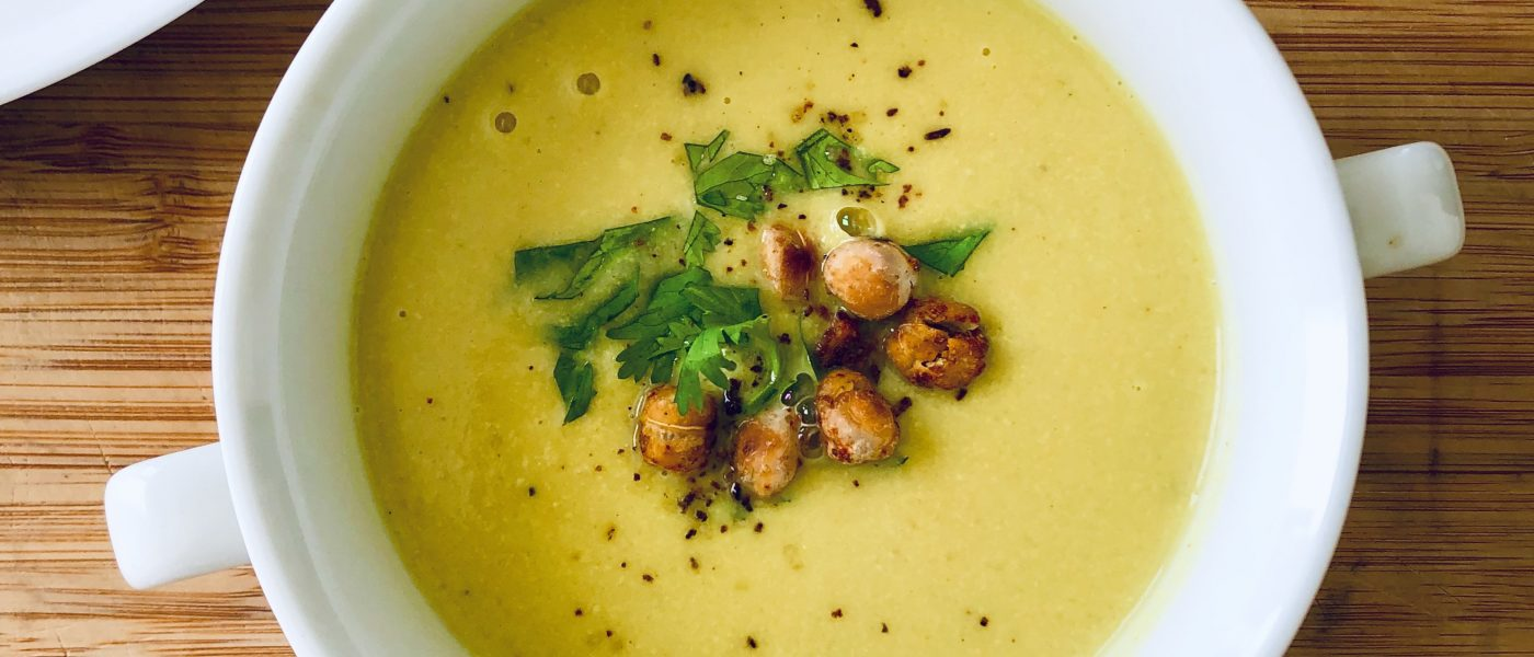 Cauliflower and Cashew Soup