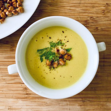 Cauliflower and Cashew Soup
